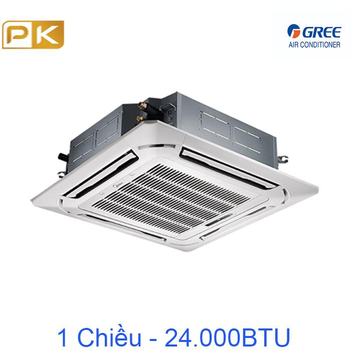 Điều hòa âm trần 1 chiều Gree 24000Btu GU71T/A-K/GUL71W/A-K/TF06