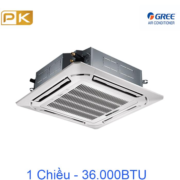 Điều hòa âm trần 1 chiều Gree 36000Btu GU100T/A-K/UL100W/A-M/TF06