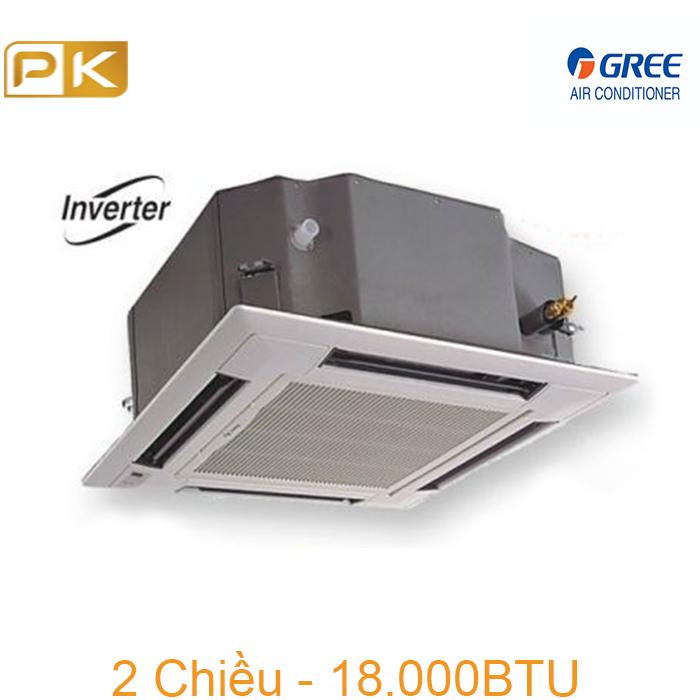 Điều hòa âm trần Gree 2 chiều inverter 18000Btu GKH18K3FI/GUHD18NK3FO/TC03