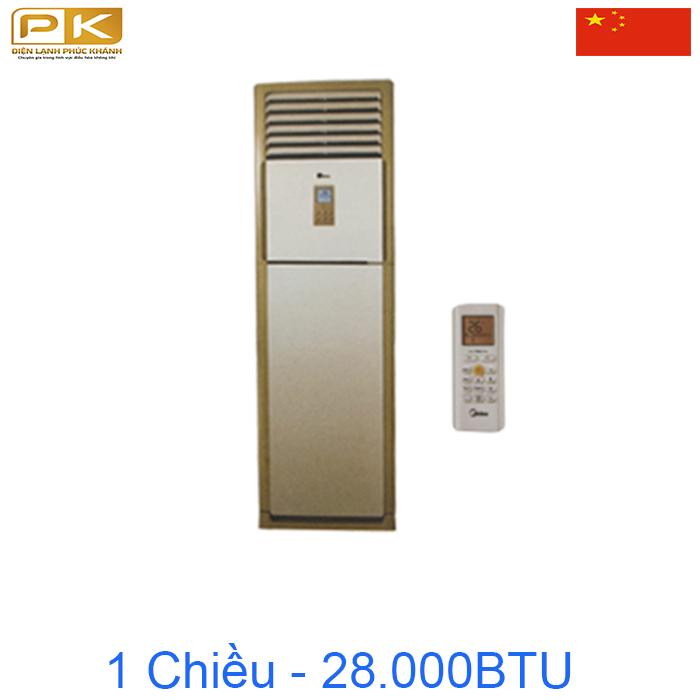 Điều hòa tủ đứng Midea 1 chiều 28000BTU MFSM-28CR