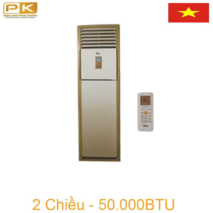 Điều hòa tủ đứng Midea 2 chiều 50000BTU MFSM-50HR