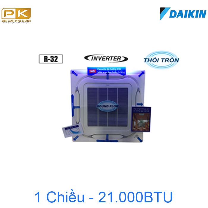 Điều hòa âm trần Daikin 1 chiều inverter 21000BTU FCF60CVM/RZF60CV2V