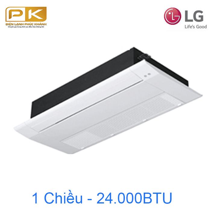 Điều hòa âm trần LG 1 chiều inverter 24000Btu ATNQ24GTLA1