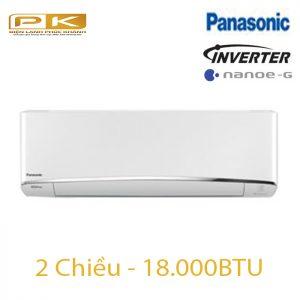 Điều hòa Panasonic 2 chiều inverter 18.000Btu YZ18UKH-8