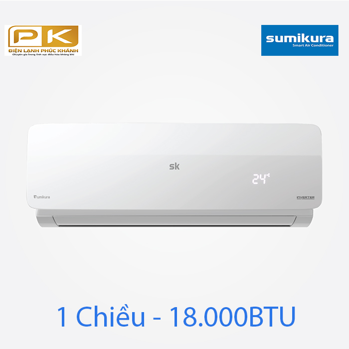 Điều hòa Sumikura 1 chiều Inverter 18.000Btu APS/APO-180DC