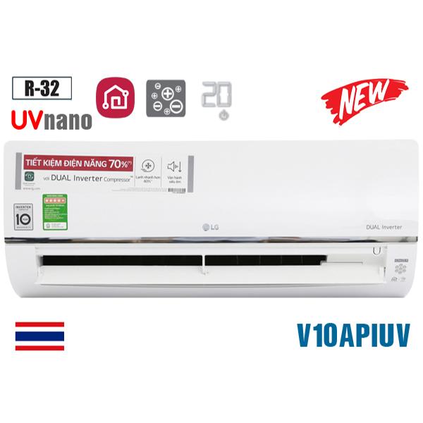 Điều hòa LG 9000BTU 1 chiều inverter UV Nano V10APIUV